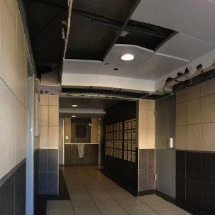 Plafond Inox hall d'entrée